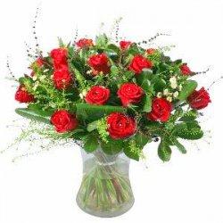 Flowers אדום אדום