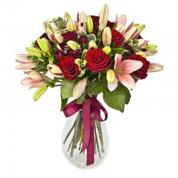 Flowers באדום ורוד