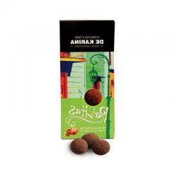 פרליטס אגוז לוז- פניני שוקולד חלב מריר ואגוזי לוז