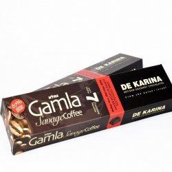 גמלא שוקולד מריר 67%- קפה ופולי קקאו