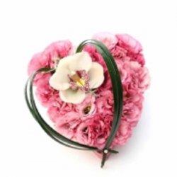 Flowers סידור לב הסחלב