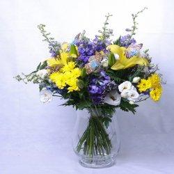 Flowers דלפיניום רענן