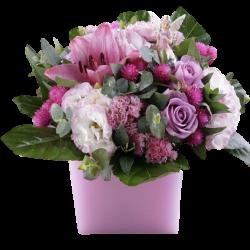 Flowers רומנטי בכלי