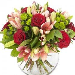זר פרחים מרגש במיוחד