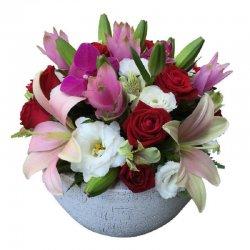 סידור פרחים יוקרתי