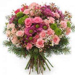 זר פרחים הגן הקסום