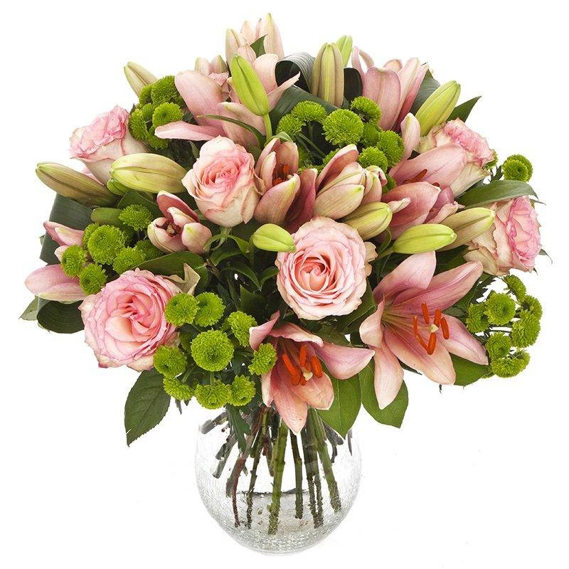 זר פרחים קלאסי