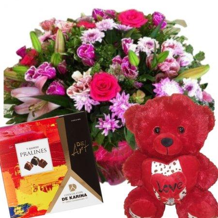 דיל זר פרחים אהבה
