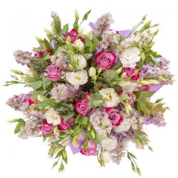 זר פרחים קלאסיקה