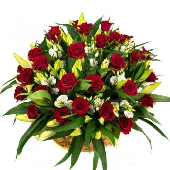 סידור ורדים ענק