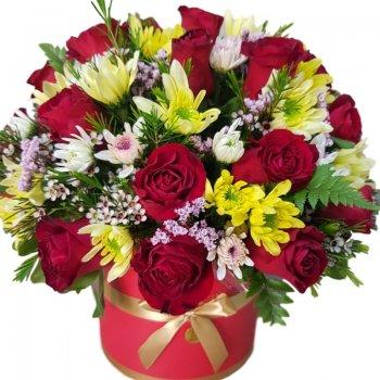 Flower box דבי בוערת