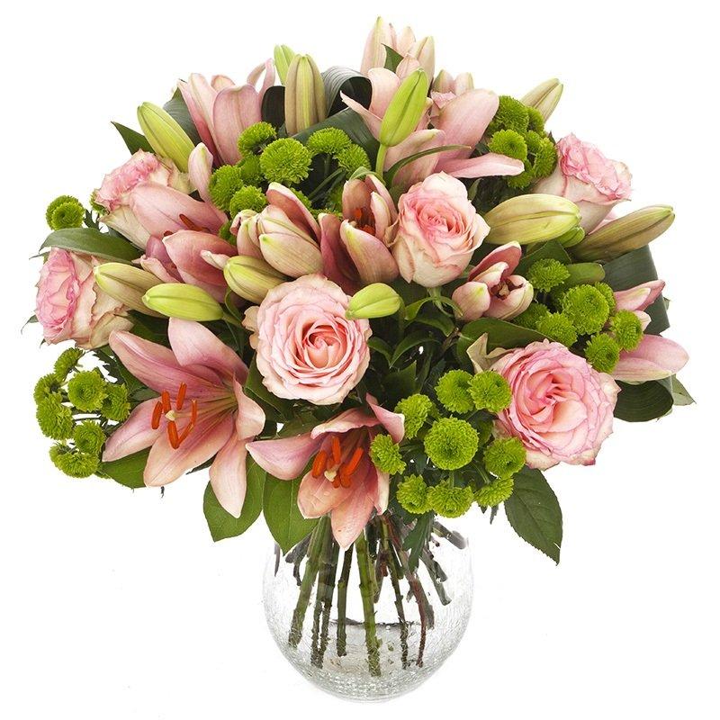 זר פרחים בייבי