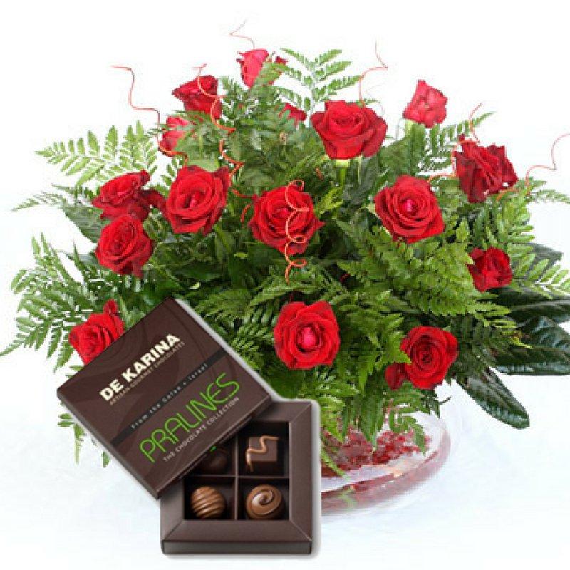 דיל ורדים + פרלינים
