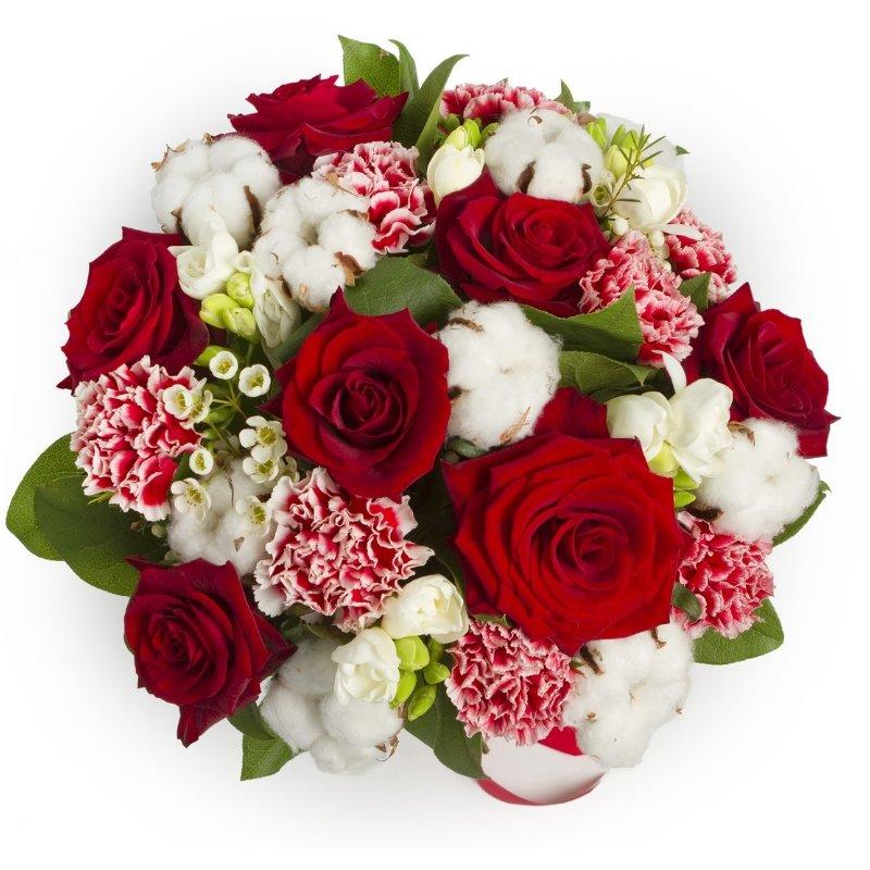 סידור פרחים חגיגי