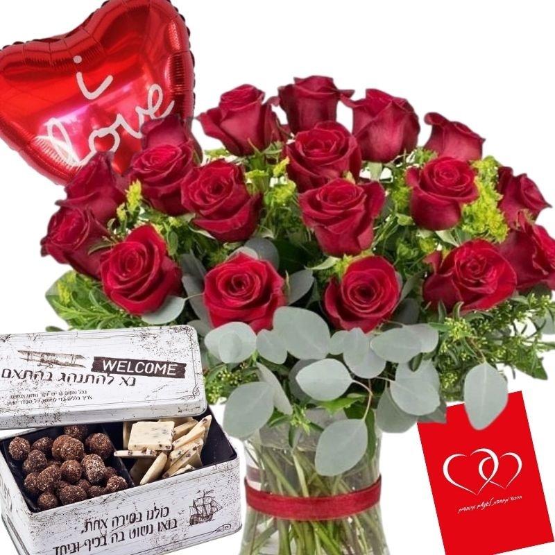 דיל ורדים אדומים דניאל